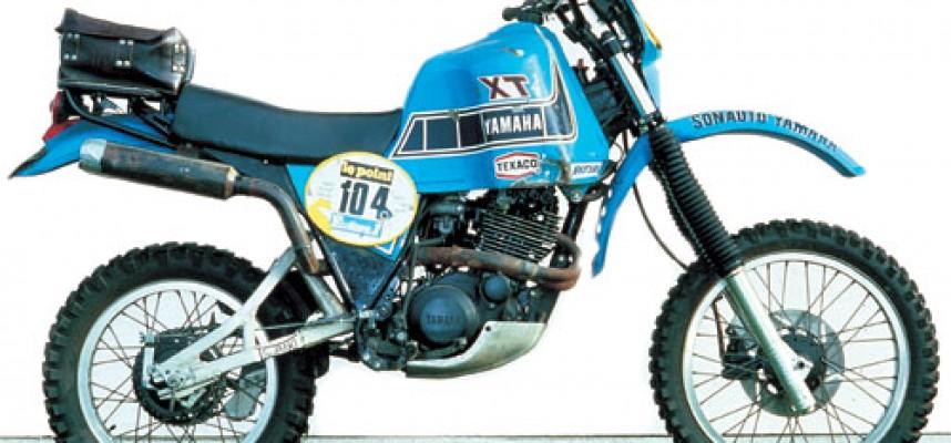 1982 XT550 Dakar