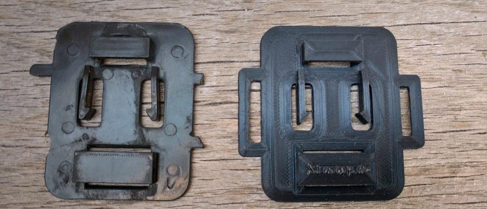 Grundplatte Zentralstecker XT550