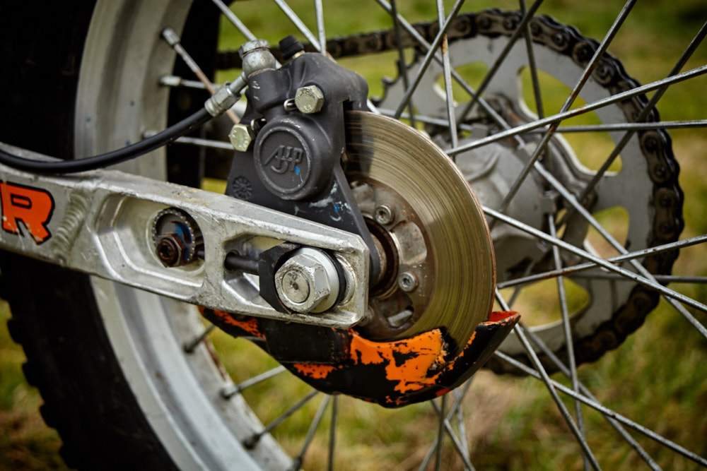 Bremsscheibe eingelaufen - aber bremst