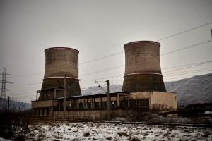 Altes Kraftwerk in Deva