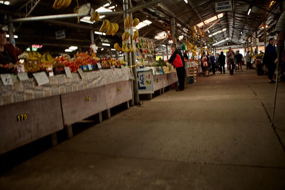 Im Markt von Timișoara