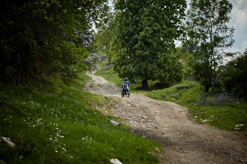 Ortsdurchfahrt in Lindenfeld