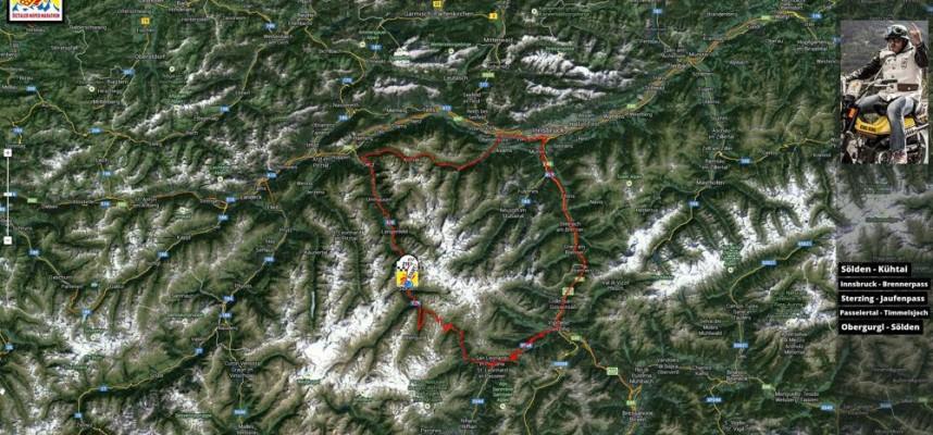 Track Oetztaler Mopedmarathon 2014