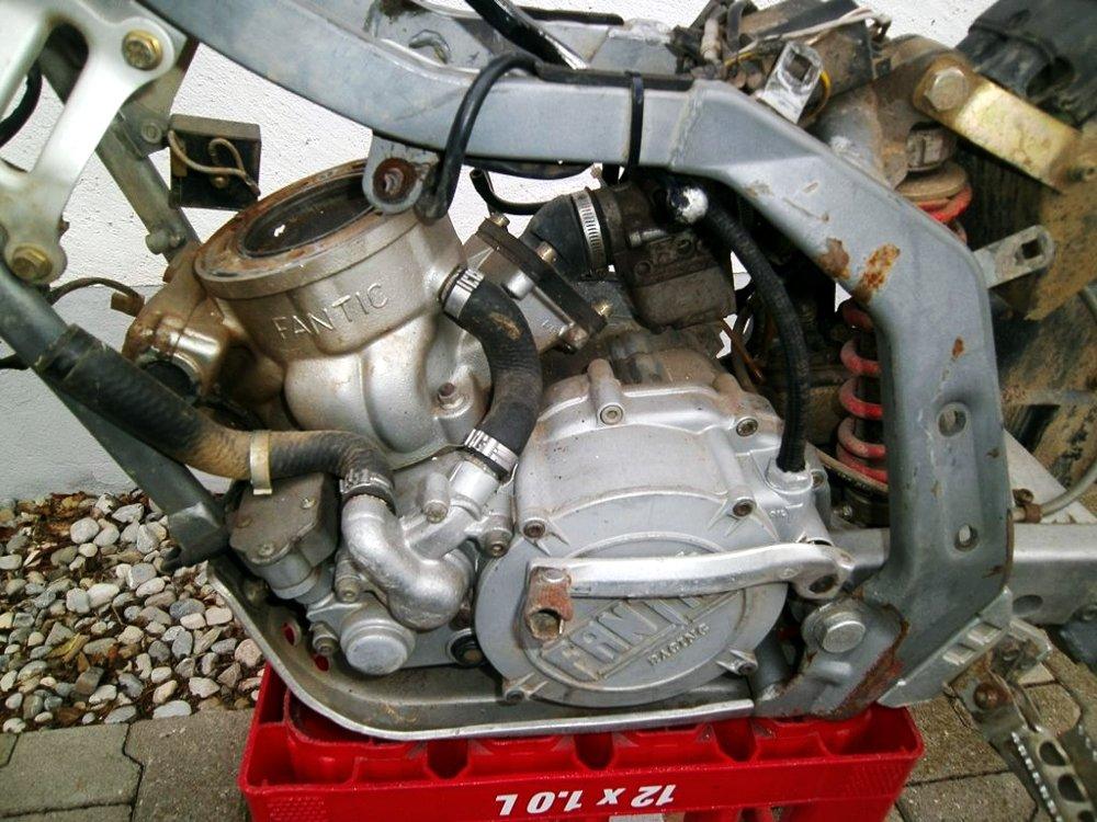 Motor Kupplungsseite
